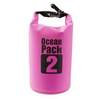Водонепроницаемая сумка-мешок Ocean Pack, 2 L, Цвет: Розовый
