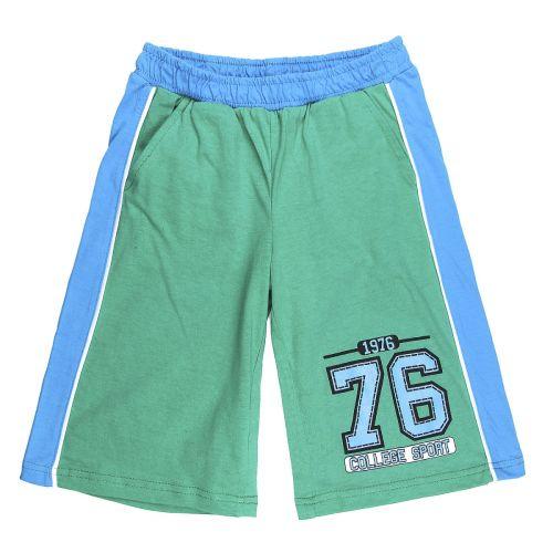 Бриджи для мальчика 5-8 лет Happy Kids HK323 зеленые