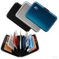 Бокс для кредитных карт Alluma Wallet (Security Credit Card Wallet), Цвет: Красный