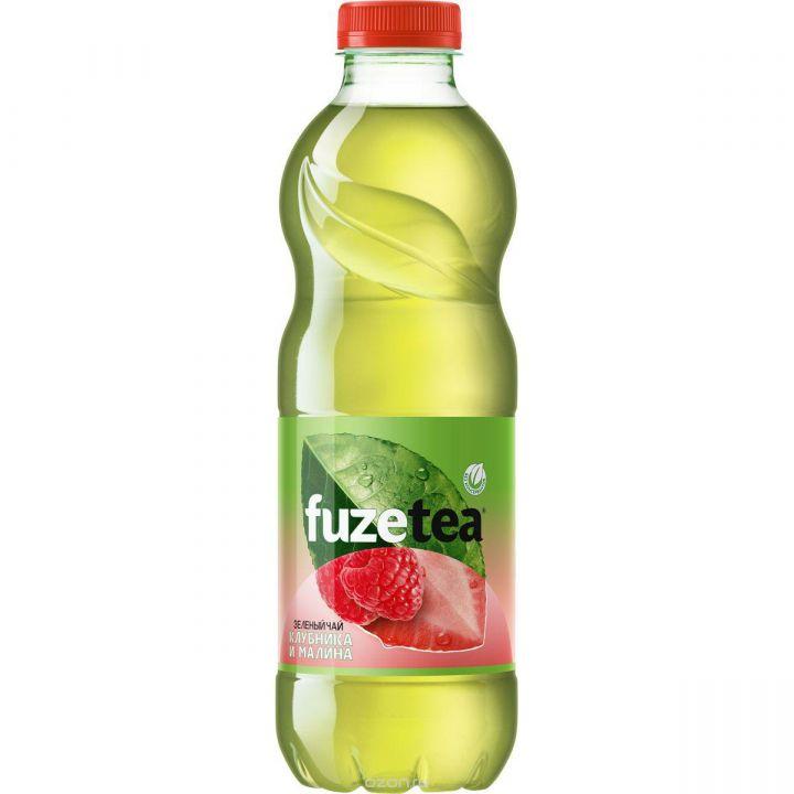 Чай Fuse tea 1,5л Зеленый Клубника/Малина Кока-кола