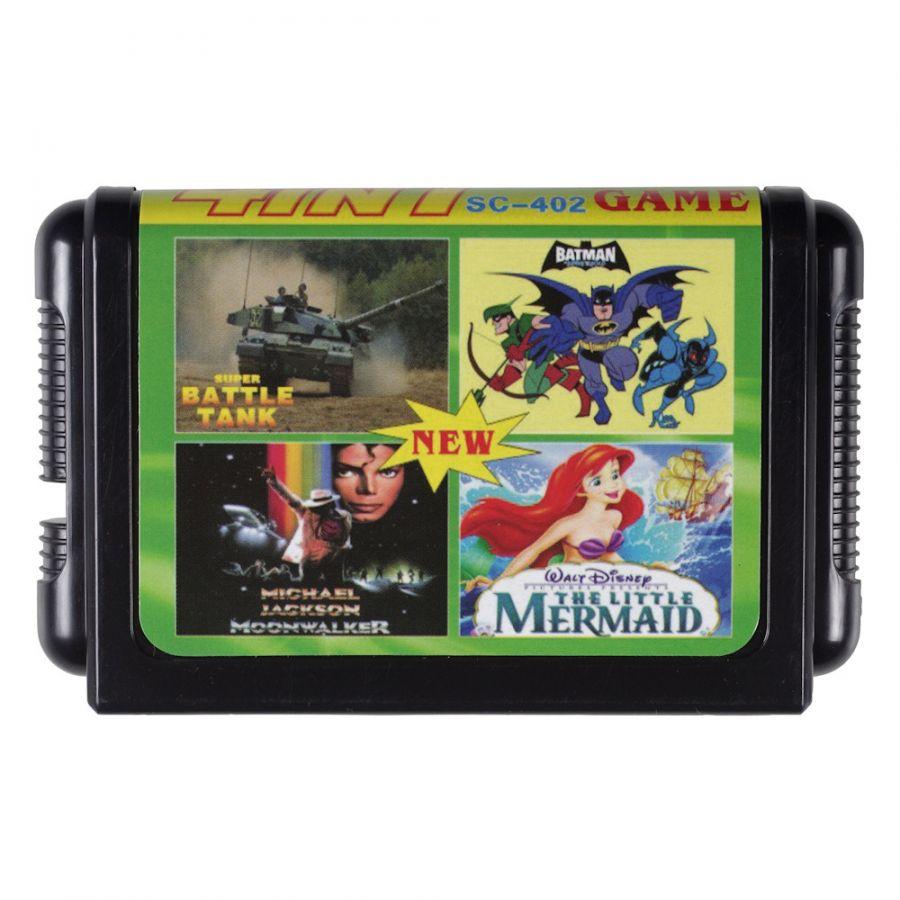Sega картридж 4 в 1 SC-402