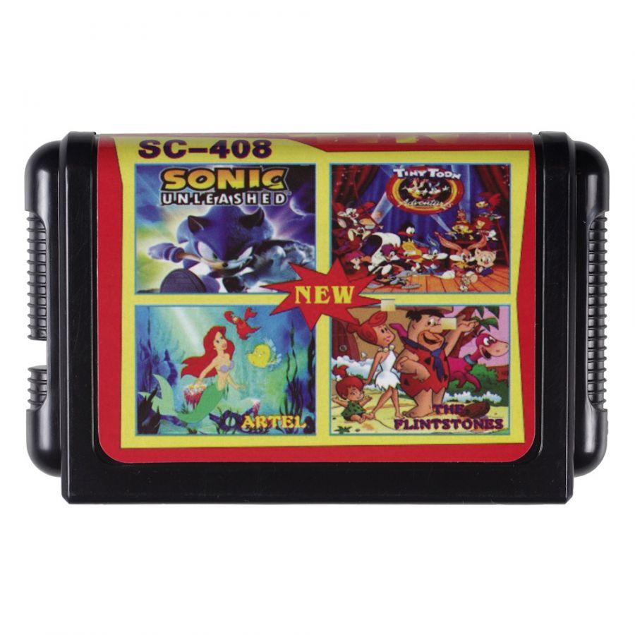 Sega картридж 4 в 1 SC-408
