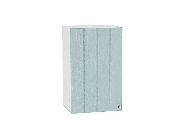 Шкаф верхний Прованс В450 (голубой)