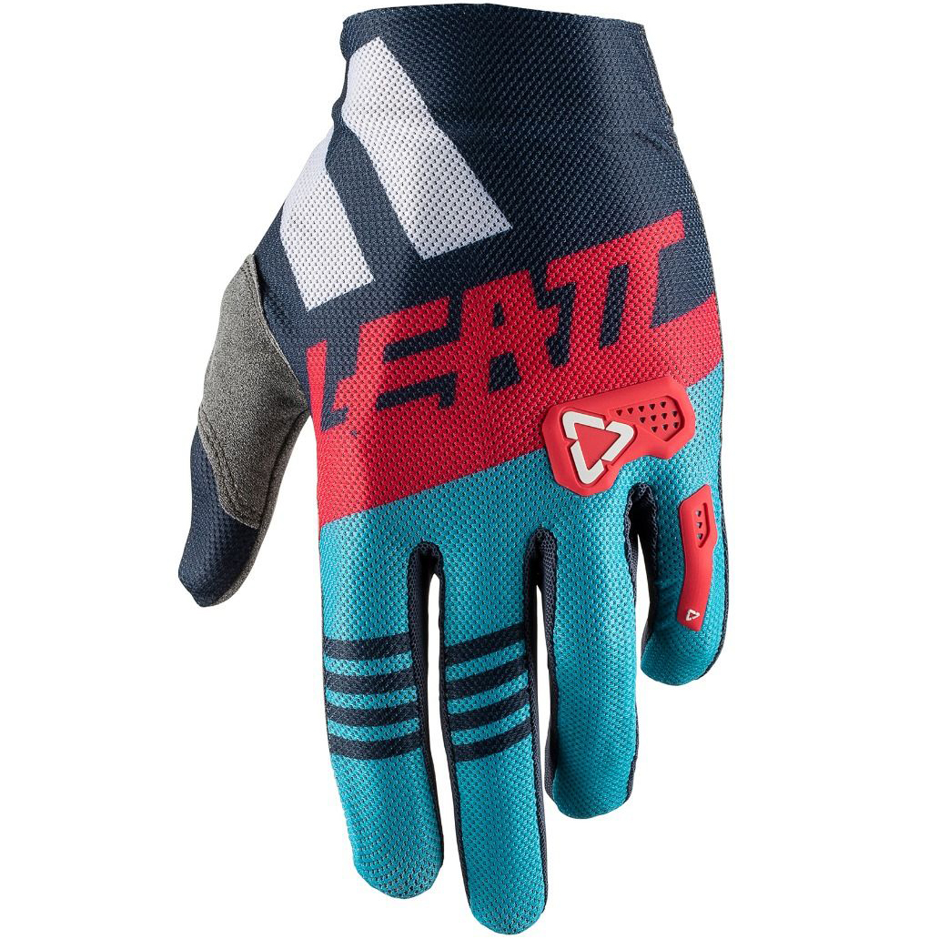 Leatt - GPX 2.5 X-Flow Glove Ink/Blue перчатки, синие