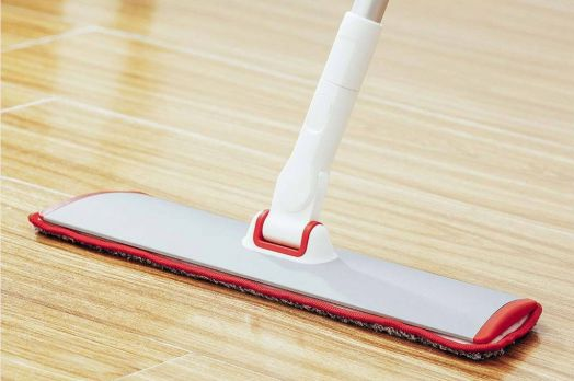 Швабра Appropriate Cleansing from the Squeeze Wash MOP YC-02 Red Gray Cloth