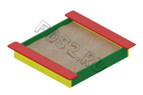 Песочница Забава                                           1860х1930х220
