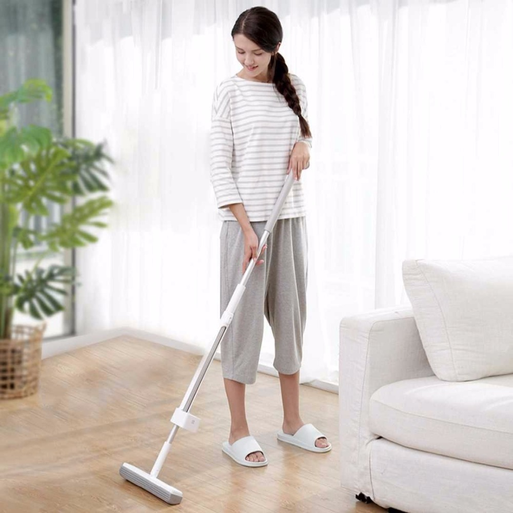 Швабра Mi Blue Fish 180° Cotton Mop Grey