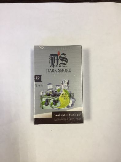 Табак для кальяна Dark Smoke IceBluberry&Green Lemon