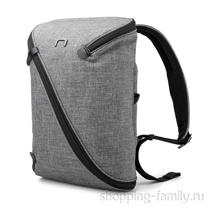 Городской рюкзак-трансформер Niid Uno, серый