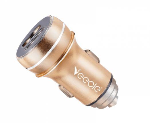 ЗУ в прикуриватель на 2 гнезда USB VEECLE KY-C07