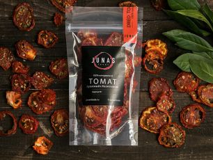 """""""Juna's Foods"""" Томат с базиликом сушеный, 15гр"""