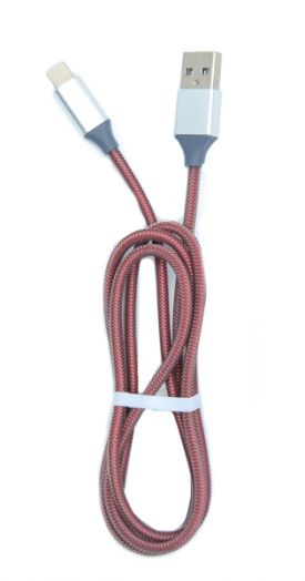Кабель USB 2А Орбита KM-108 (iPhone5/6/7) 1м