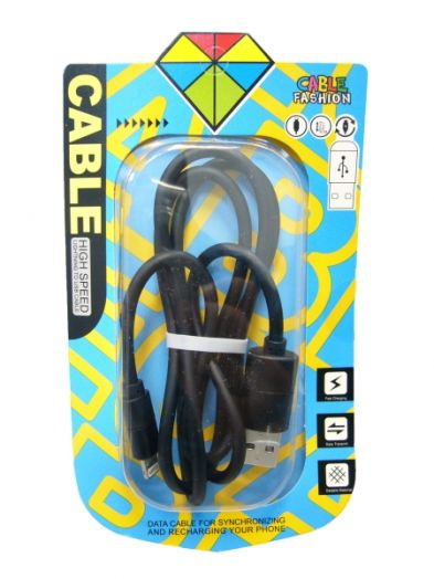 Кабель USB 2А Орбита KM-41 (iPhone5/6/7) 1м