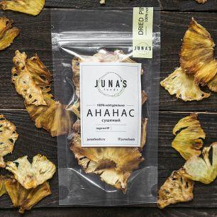 """Juna's Foods"" Ананас сушеный, 20гр"