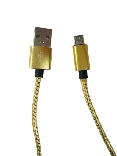 Кабель USB 1A Орбита KM-14 (microUSB) 1м