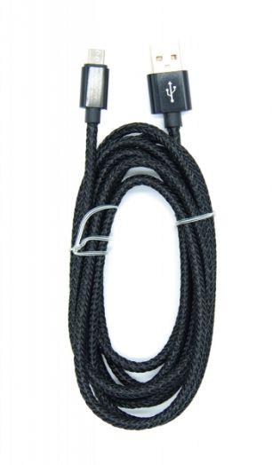 Кабель USB 2.4А Орбита KM-100 (microUSB) 2м