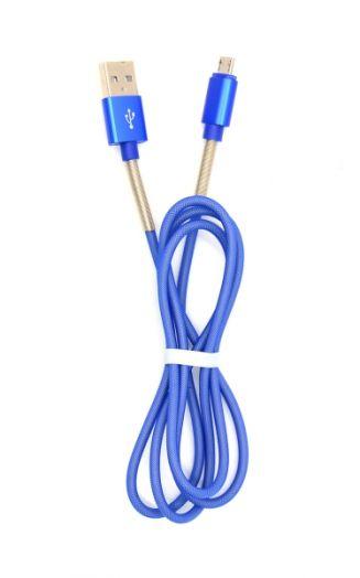 Кабель USB 2А Орбита KM-104 (microUSB) 1м
