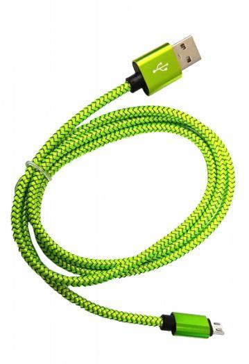 Кабель USB 2А Орбита KM-18 (microUSB) 1м
