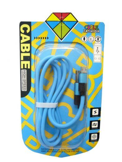 Кабель USB 2А Орбита KM-40 (microUSB) 1м