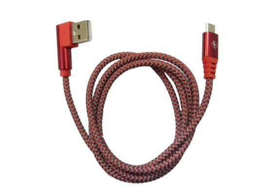 Кабель USB 2А Орбита KM-58 (microUSB угловой) 1м
