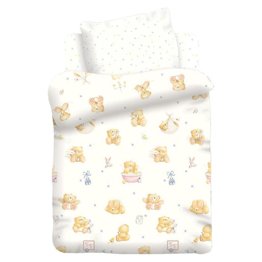 """Детское постельное бельё """"Маленькие мишки"""", рис.8825-8826 вид1 (Forever Friends)"""