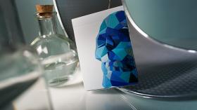 Дизайнерские карты Memento Mori Blue Playing Cards