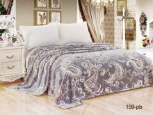 Плед Бамбук  1.5-спальный  150*200  Арт.150/199-pb