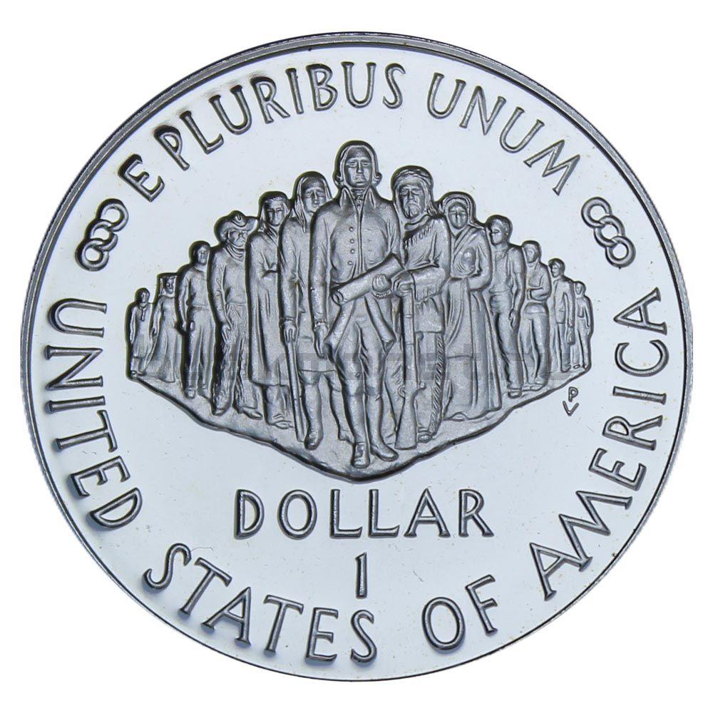 1 доллар 1987 США 200 лет Конституции S