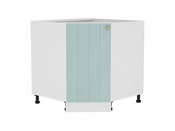 Шкаф нижний угловой Прованс НУ890 (голубой)