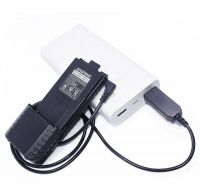 USB кабель - зарядное устройство для раций Baofeng с усиленным АКБ
