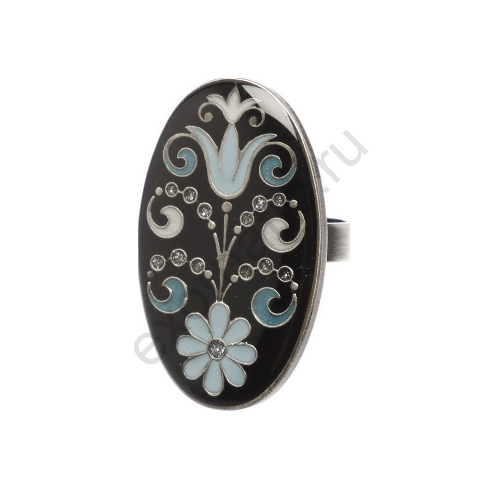 Кольцо Clara Bijoux K72296.6 BL/BW