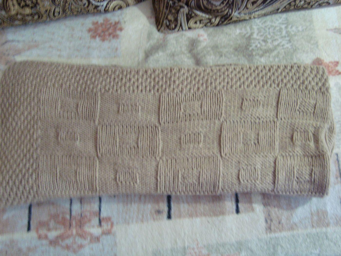 Вязаный детский плед для девочки/ мальчика. Одеяло ручной работы.Плед для малыша. Одеяло в коляску. Одеяло в кроватку.