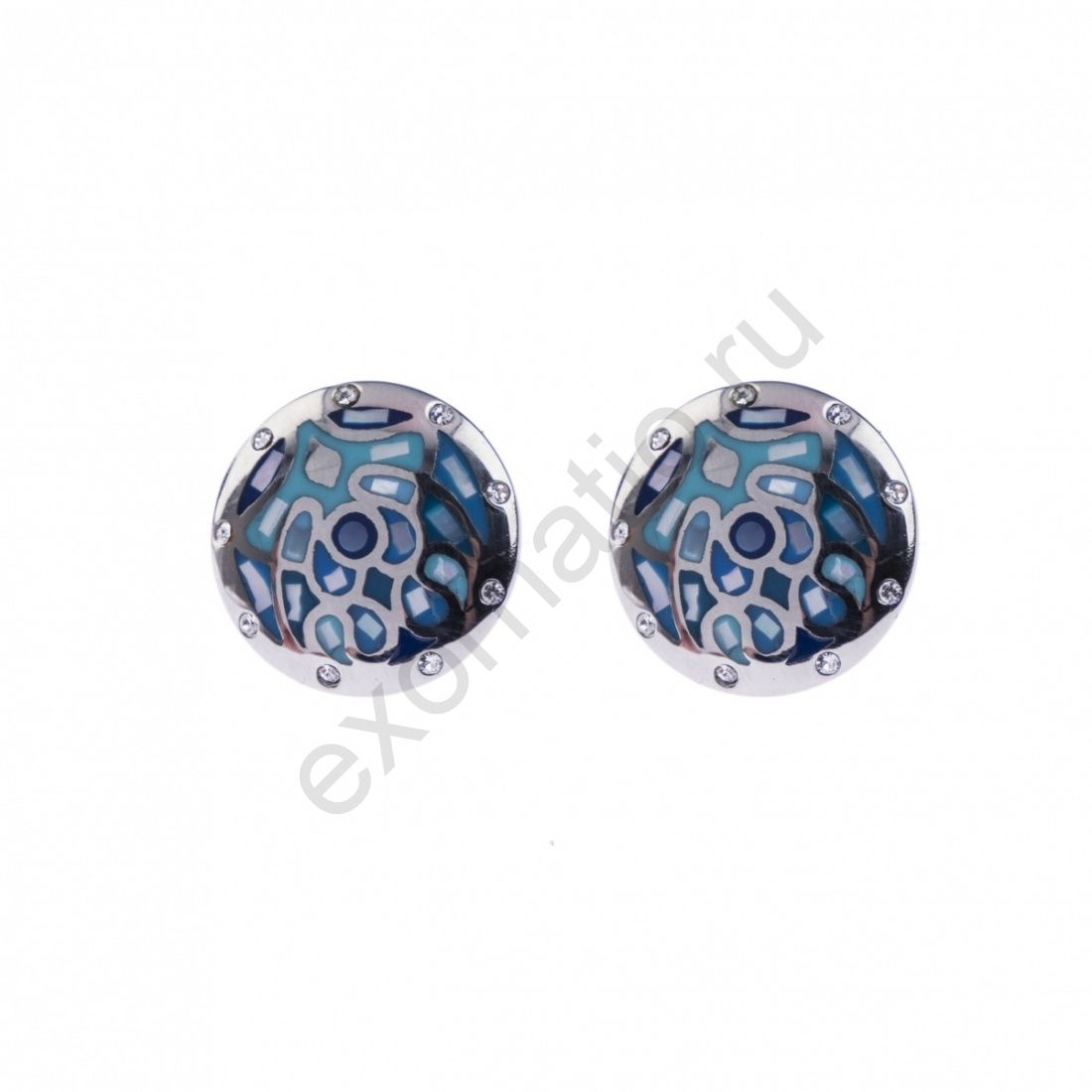 Серьги Fiore Luna AE01219-10 BL
