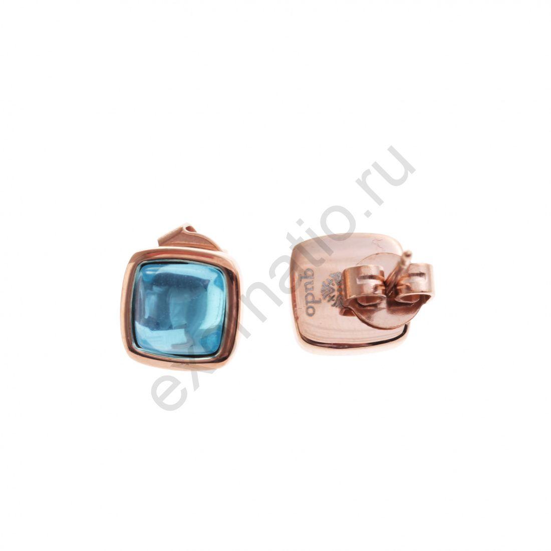 Серьги Qudo 307526 BL/RG