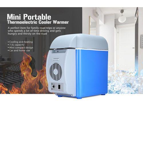 Автомобильный холодильник-нагреватель Portable Electronic Cooling and Warming Refrigerator, 7.5L