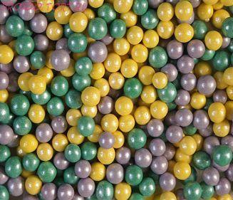 """Шарики сахарные """" Весенний каприз"""" ( d-5мм) перламутровый вес 50 гр."""