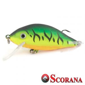 Воблер Scorana Sailor Shad 60F 60 мм / 6 гр / Заглубление: 0 - 1 м / цвет: GTT