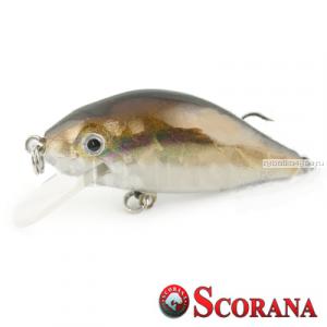 Воблер Scorana Sailor Shad 60F 60 мм / 6 гр / Заглубление: 0 - 1 м / цвет: HBL
