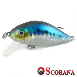 Воблер Scorana Sailor Shad 60F 60 мм / 6 гр / Заглубление: 0 - 1 м / цвет: HBLU