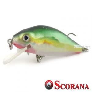 Воблер Scorana Sailor Shad 60F 60 мм / 6 гр / Заглубление: 0 - 1 м / цвет: SBR