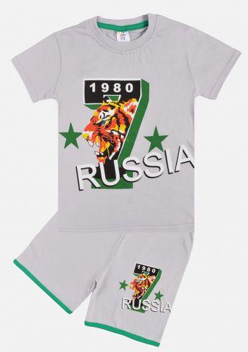 """Комплект для мальчика """"RUSSIA 7"""" 5-8 лет №105-1"""