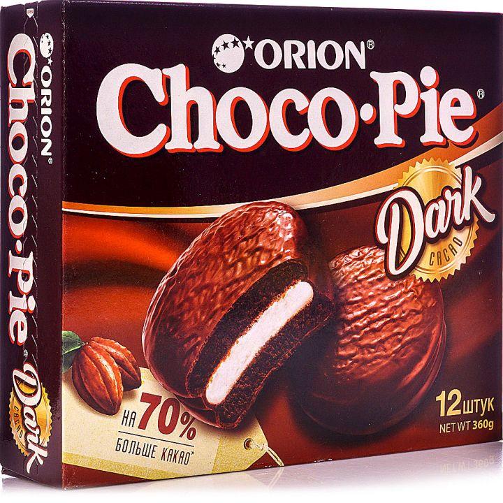 Печенье Чокопай DARK 360г (12шт)