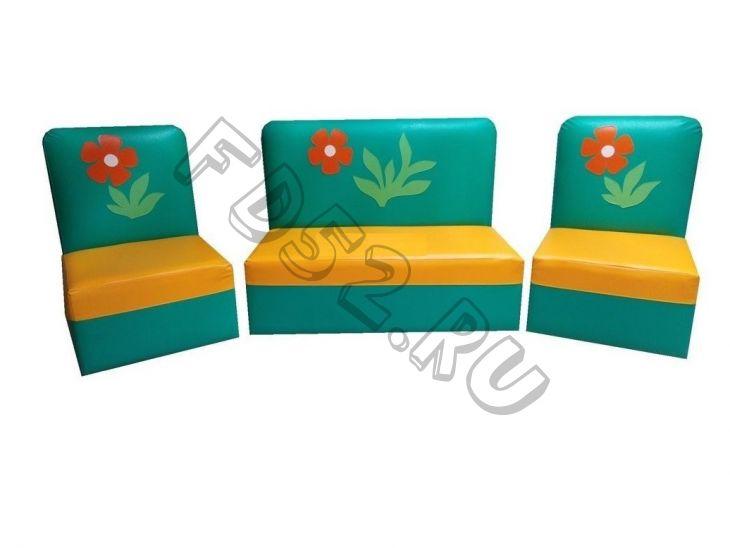 Детская мягкая мебель «Дошколенок»