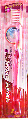 CJ Lion Зубная щётка Crystal compact для ослабленных дёсен