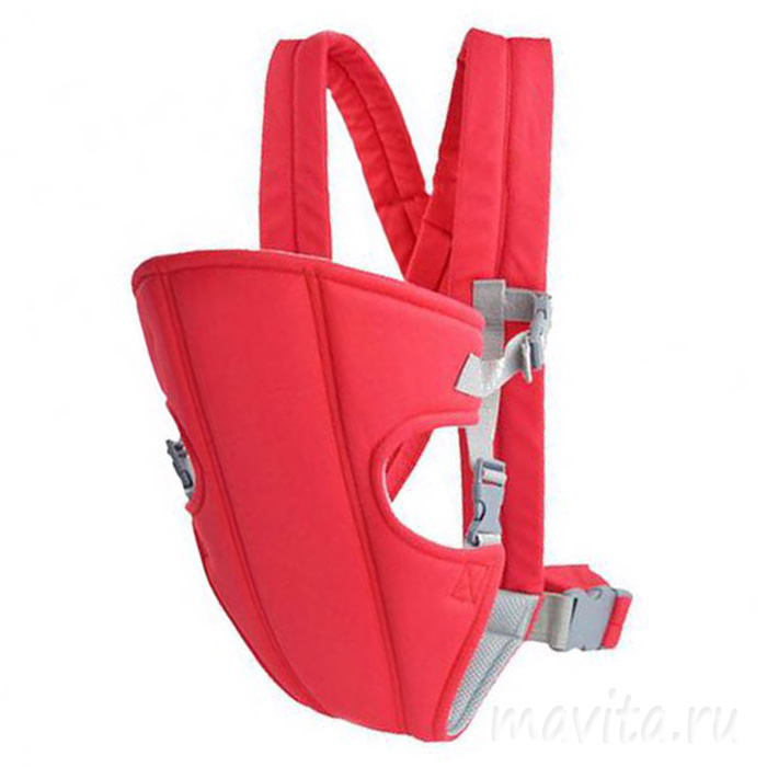 Слинг-рюкзак для переноски ребенка Baby Carriers, Цвет Розовый