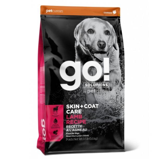 Корм сухой GO SKIN + COAT Lamb Meal Recipe Для Щенков и Собак со свежим Ягненком 1,6 кг