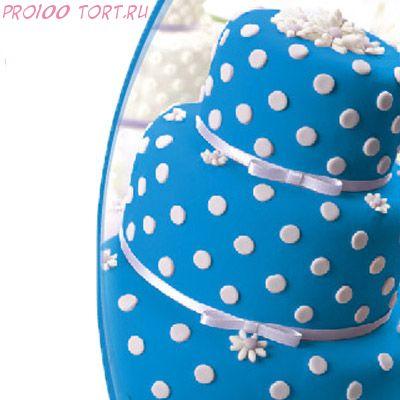 Мастика сахарная Синяя вес 600 гр.