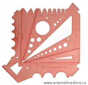 Шаблон измерительный для токарей NOVA Messlehre DT10051 М00013837