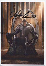 Автограф: Чедвик Боузман. Чёрная Пантера