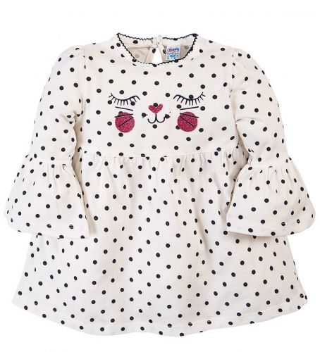 Платье для девочек 6-18 мес.Bonito OR279P белое